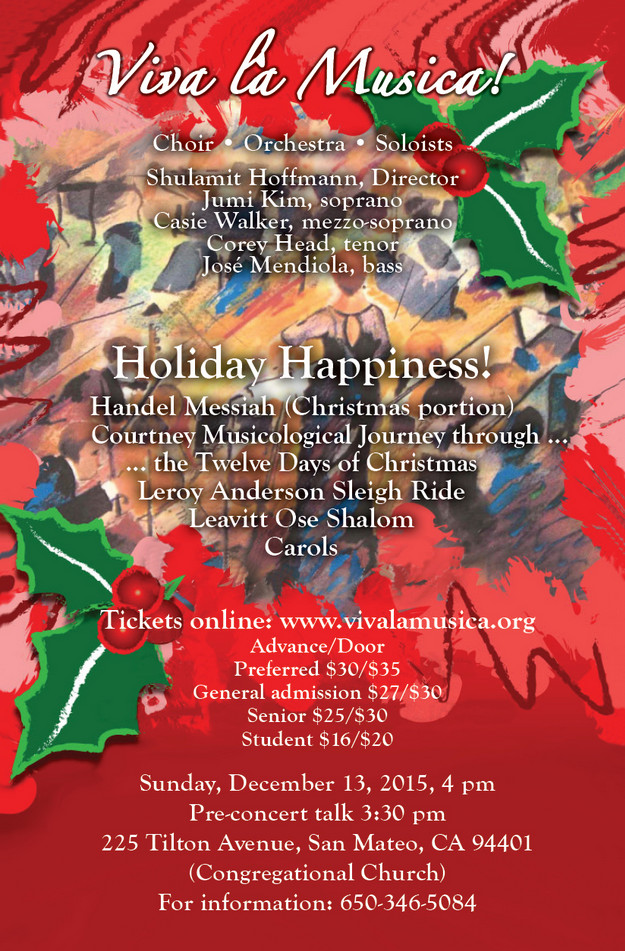 Holiday 2015 Concert